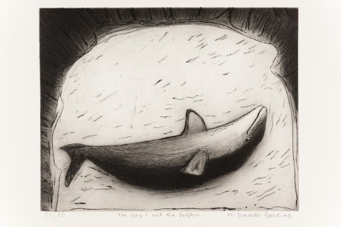 The day I met the Dolphin<br><span>1989, 29x37cm, Etching ed 85</span>