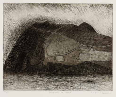 Going into the Island<br><span>1982, 39x49cm, Etching ed. 85</span>