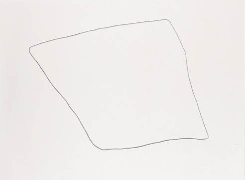 Field Drawing<br><span>2008, 84x112cm, Fresco pigment on plaster</span>