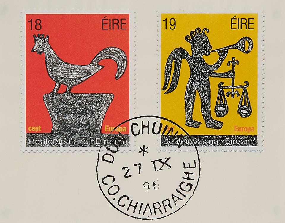 Stamp series on Irish Folklore, The Europa Series, 1981<br><span></span>