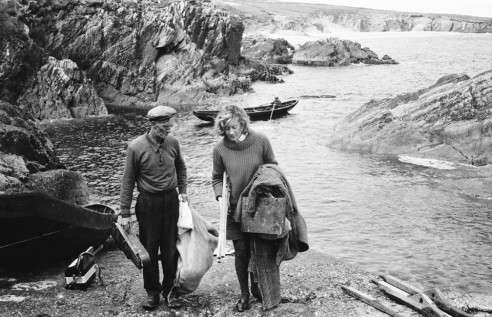 Arriving on the Great Blasket Island, 1967<br><span></span>