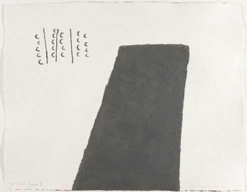 Earth Shelters II<br><span>2007 ed. 40, 67x87cm, Carborundum *</span>